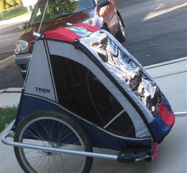 Fuji Crazy Child Bicycle Trailer Comparison Trek Vs In Step