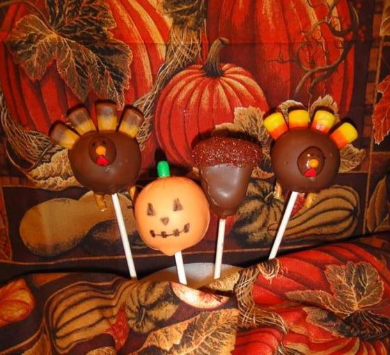 Cuppy Cakes And Creations Fall Cake Pops