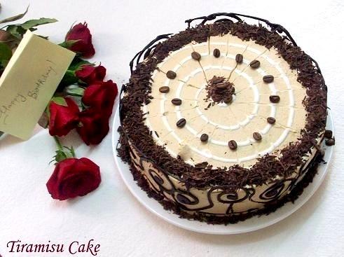 Cakes More Tiramisu Cake Happy Birthday Cakes And More