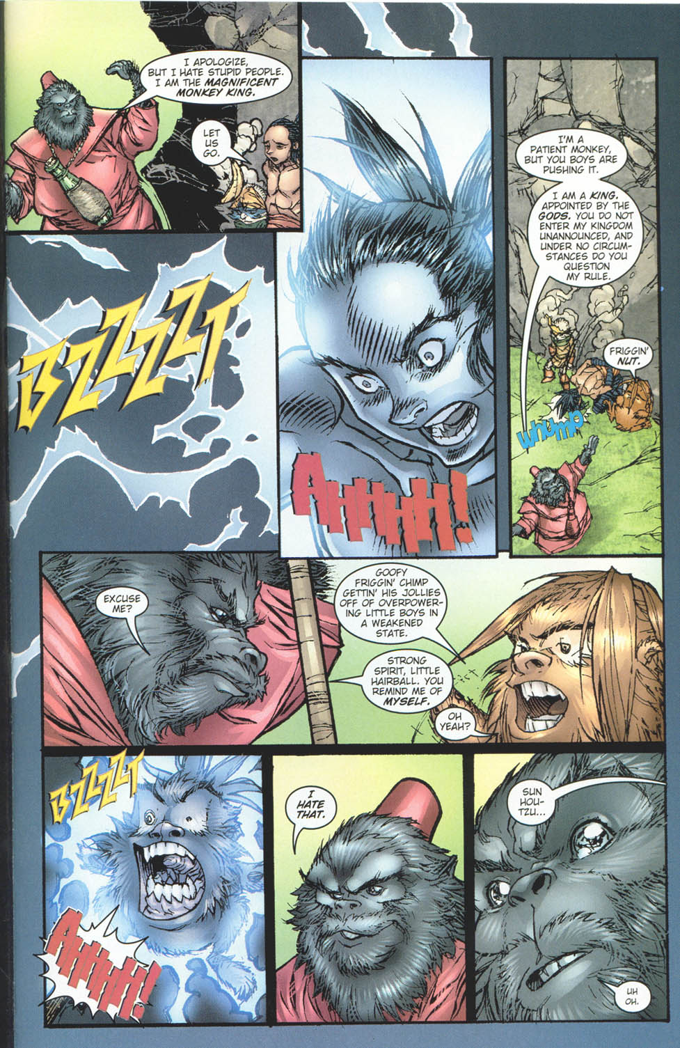 Read online Ninja Boy comic -  Issue #5 - 20