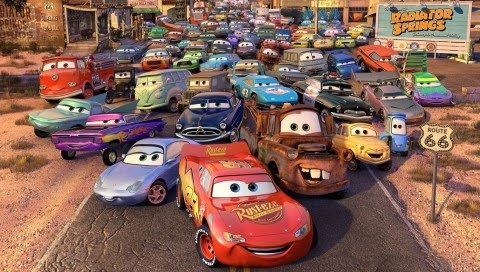 Cars The Movie
