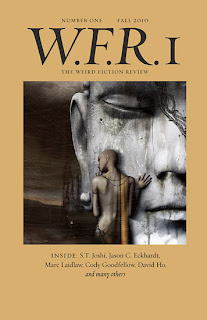 Weird Fiction Review: Vol. 1, 2011, copertina