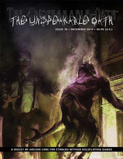 The Unspeakable Oath #18, 2010, copertina
