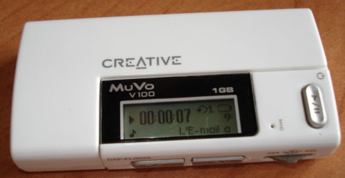 Displaying text files in old mp3 player