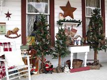 Suesjunktreasures Rustic Country Christmas Front