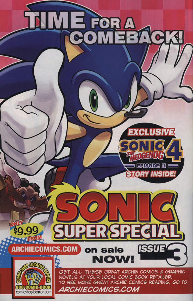 Read online Sonic the Hedgehog Free Comic Book Day Edition comic -  Issue # Special 6 - 7