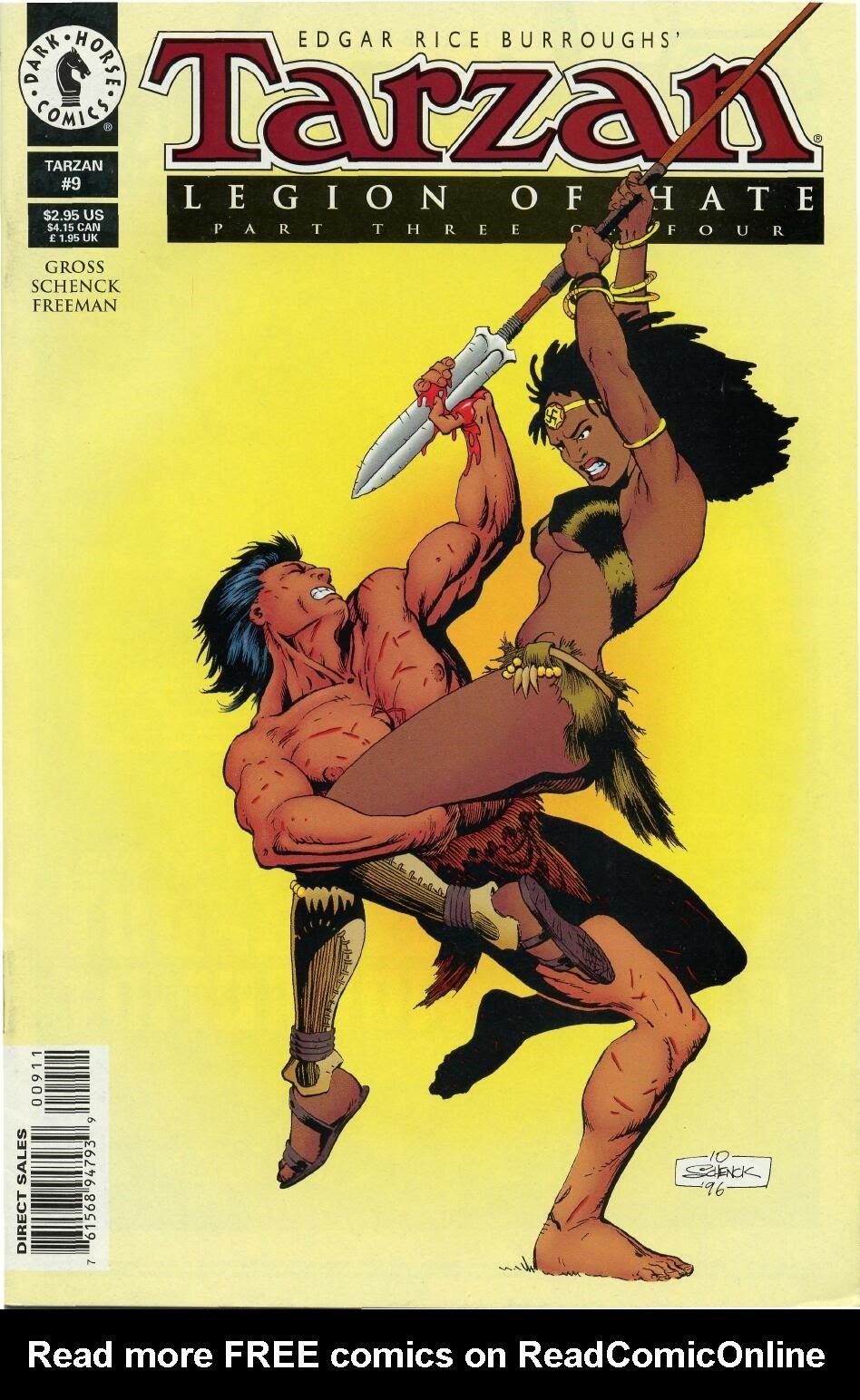 Tarzan (1996) issue 9 - Page 1