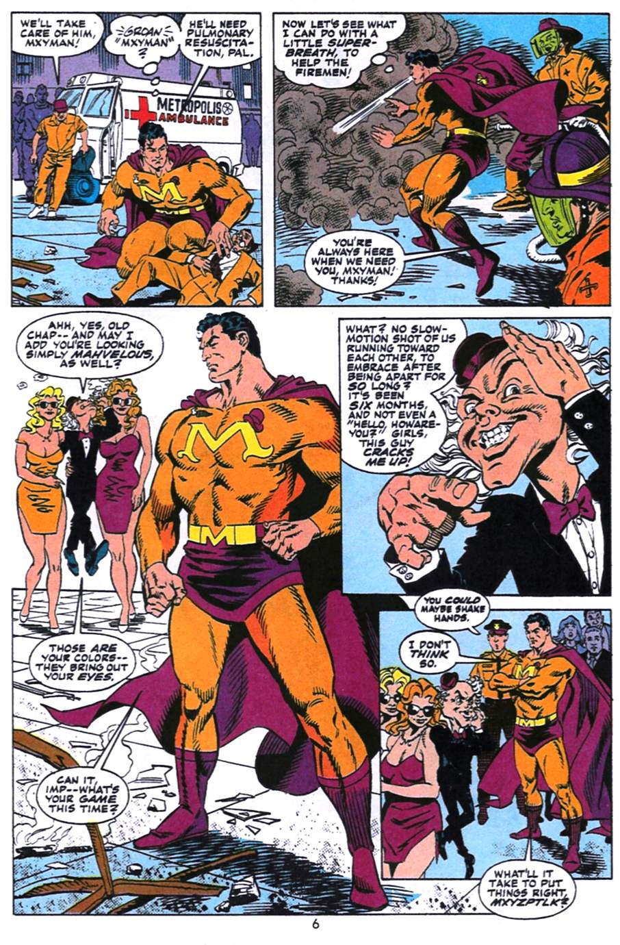 Read online Adventures of Superman (1987) comic -  Issue #496 - 7