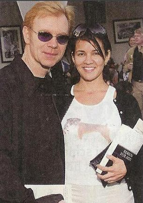 Former husband and wife: David Caruso Rachel Ticotin