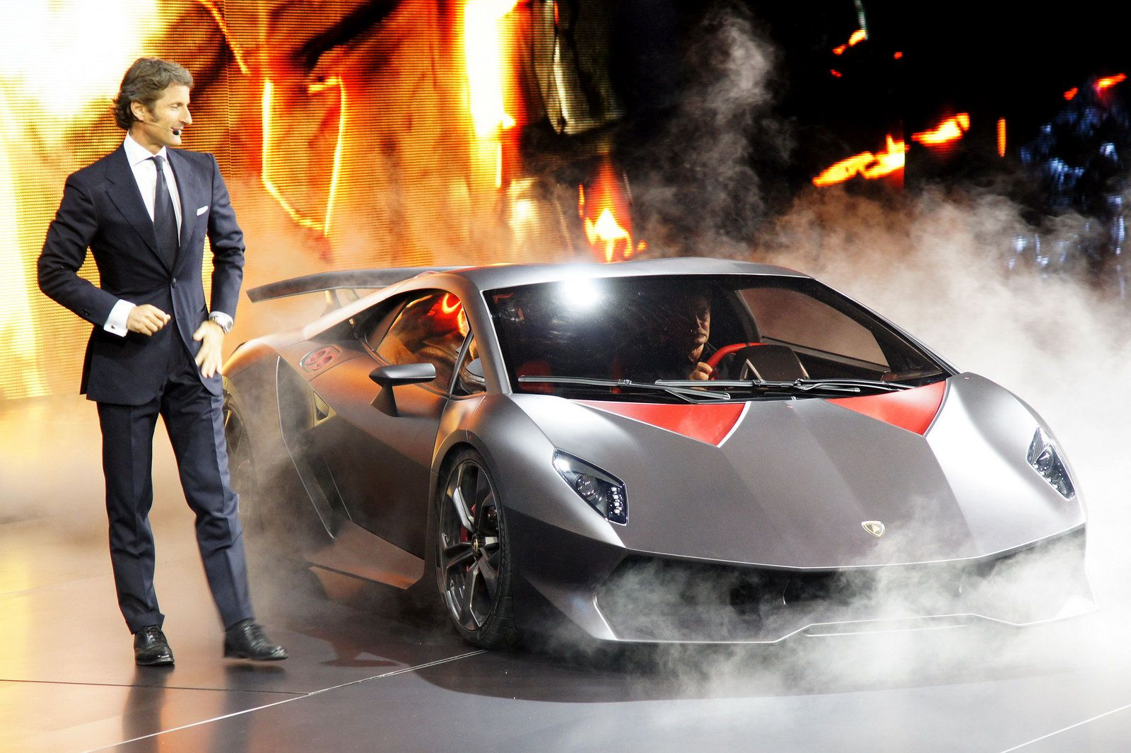 This concept signals lambos intention to withdraw from the top speed war which the worlds supercar makers have been embroiled in for some time