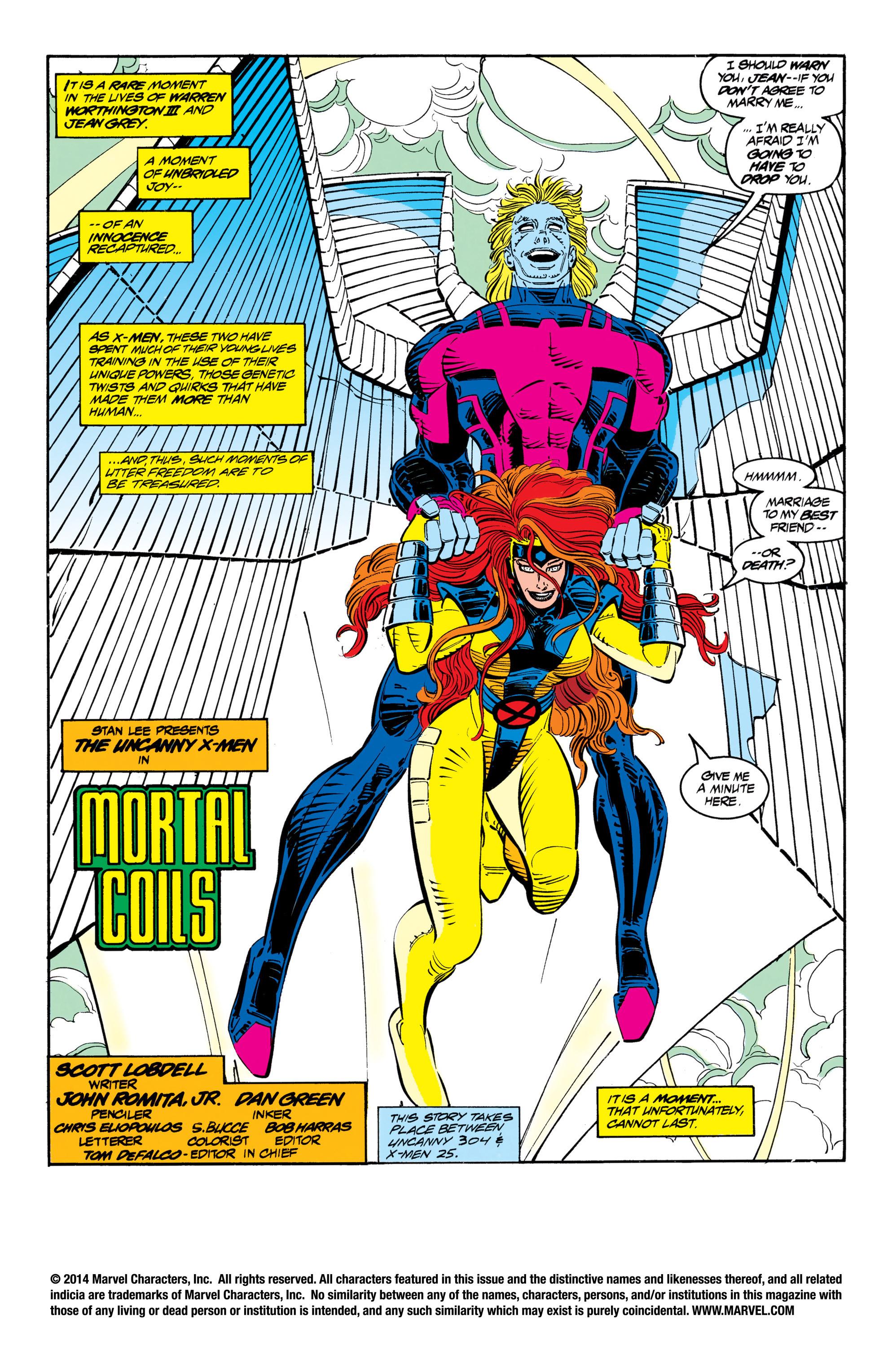 Read online Uncanny X-Men (1963) comic -  Issue #306 - 2