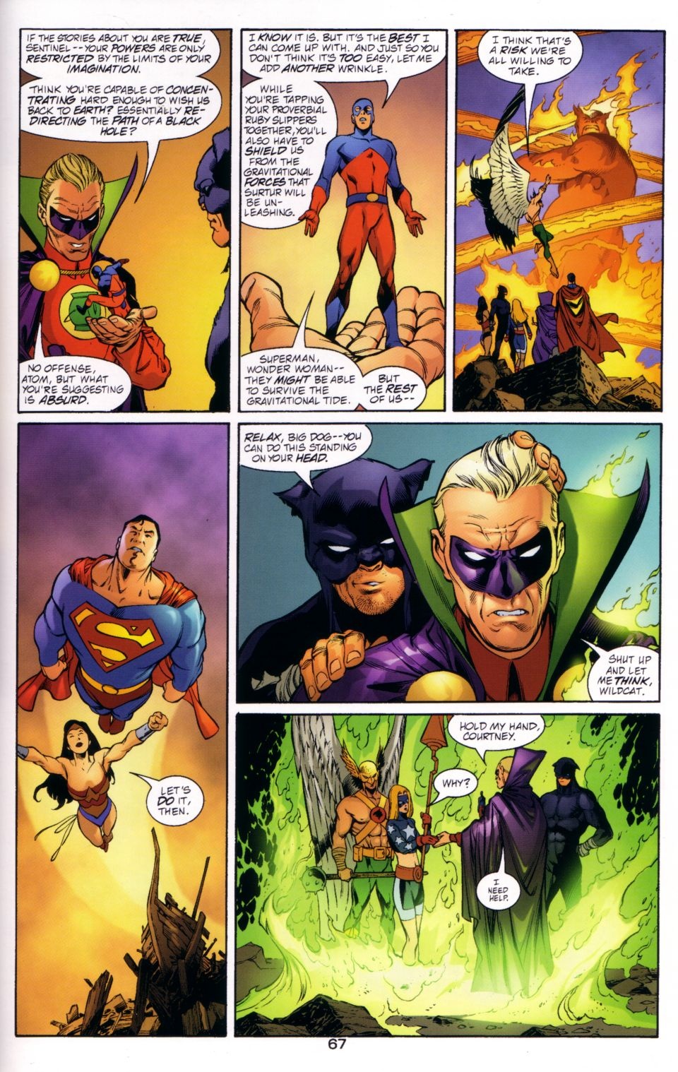 Read online JLA/JSA: Virtue and Vice comic -  Issue # TPB - 69