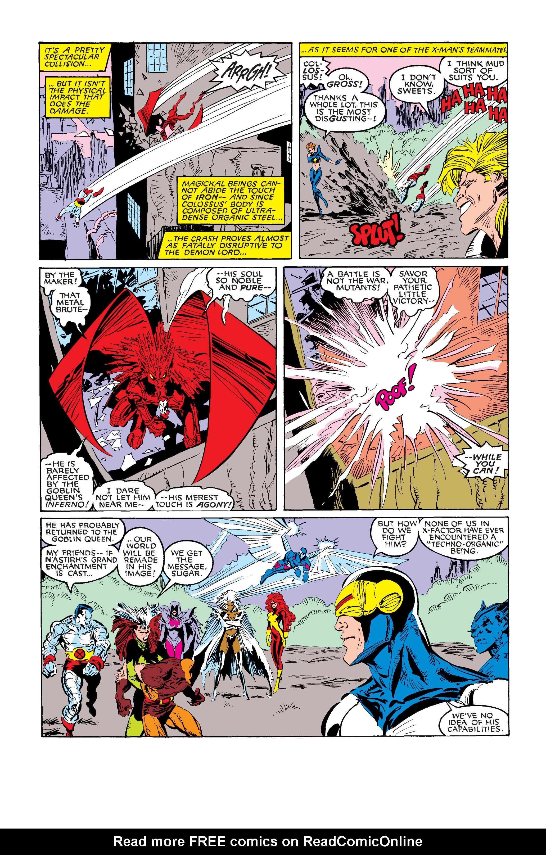 Read online Uncanny X-Men (1963) comic -  Issue #242 - 28