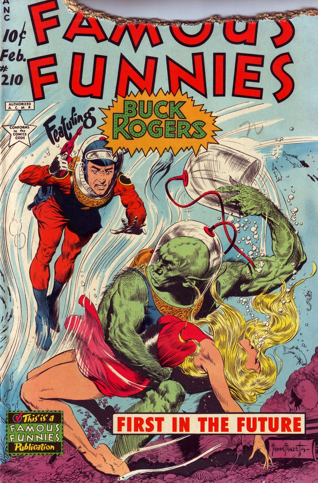 Read online Famous Funnies comic -  Issue #210 - 2