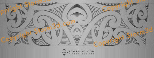 Maori Tattoo Armband: Maori-inspired Armband Tattoo + Update Shoulder Design