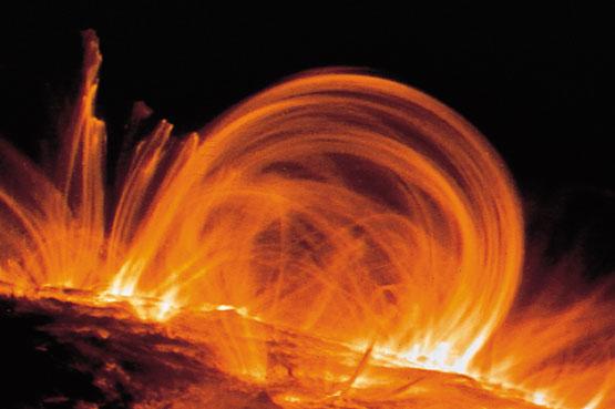 Página del Saber: Protuberancias solares