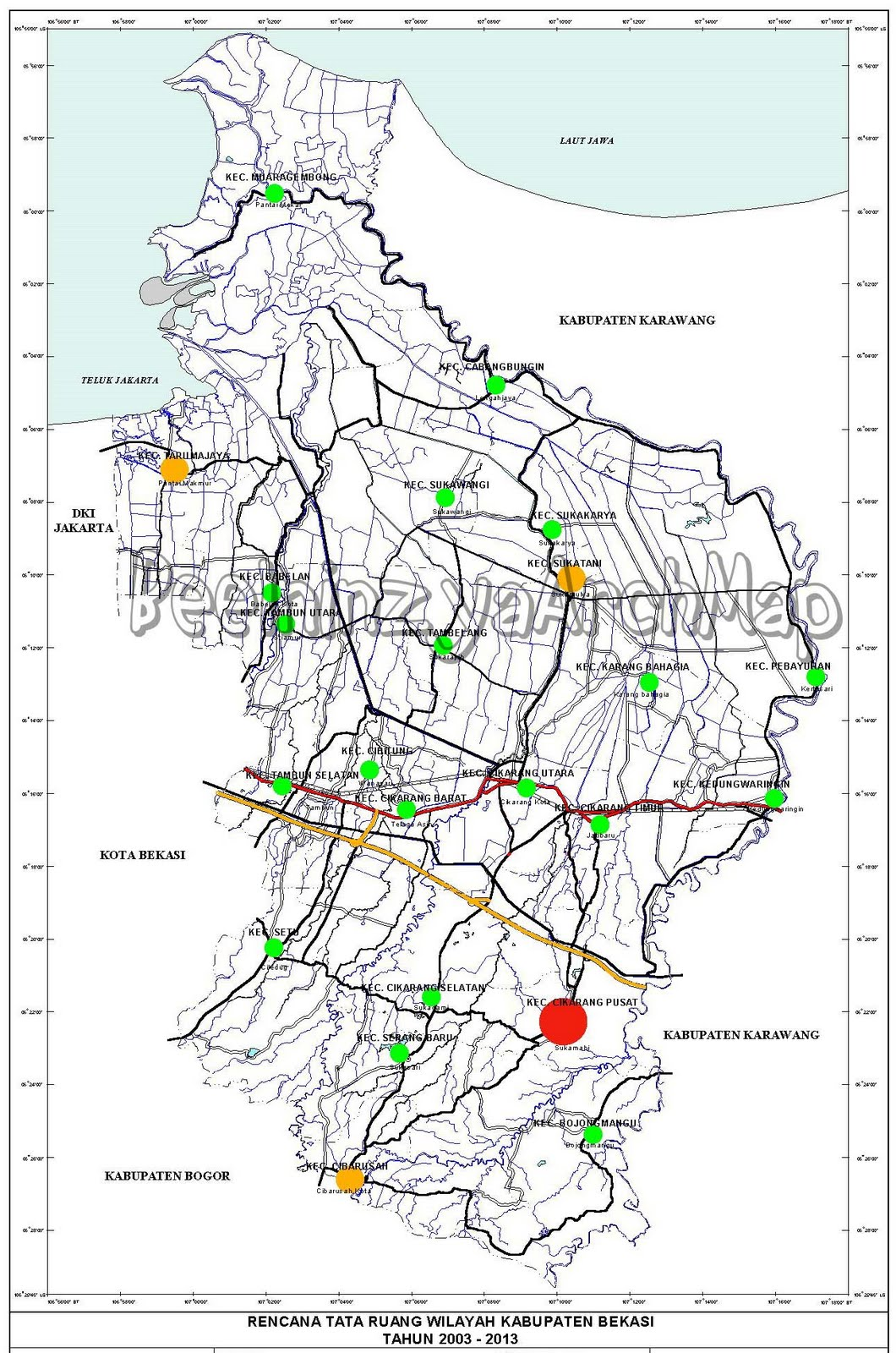 BeelninzyaArchMap Rencana Tata Ruang Wilayah Kabupaten