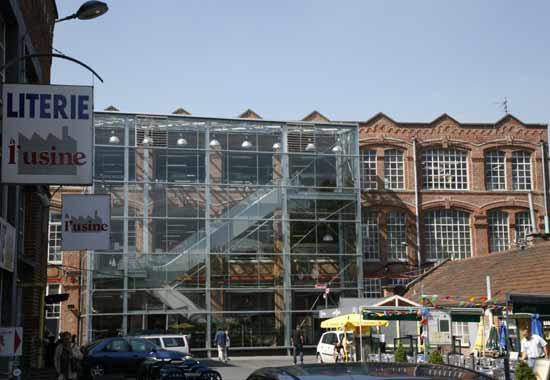 l'usine, centre de marques,