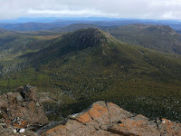 Trestle Mountain from Collins Bonnet - 6th August 2008
