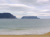 Tasman Island and Cape Pillar from Crescent Bay - 3rd January 2009