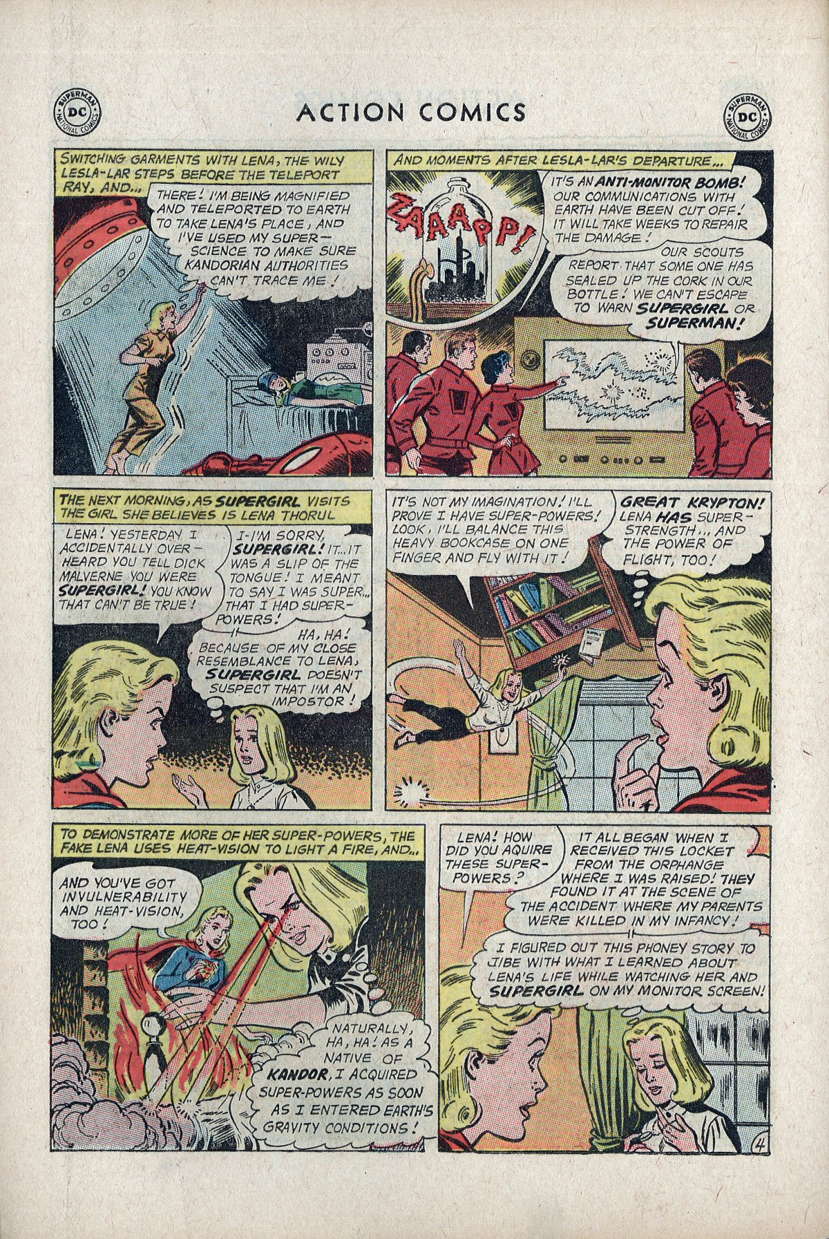 Read online Action Comics (1938) comic -  Issue #297 - 22