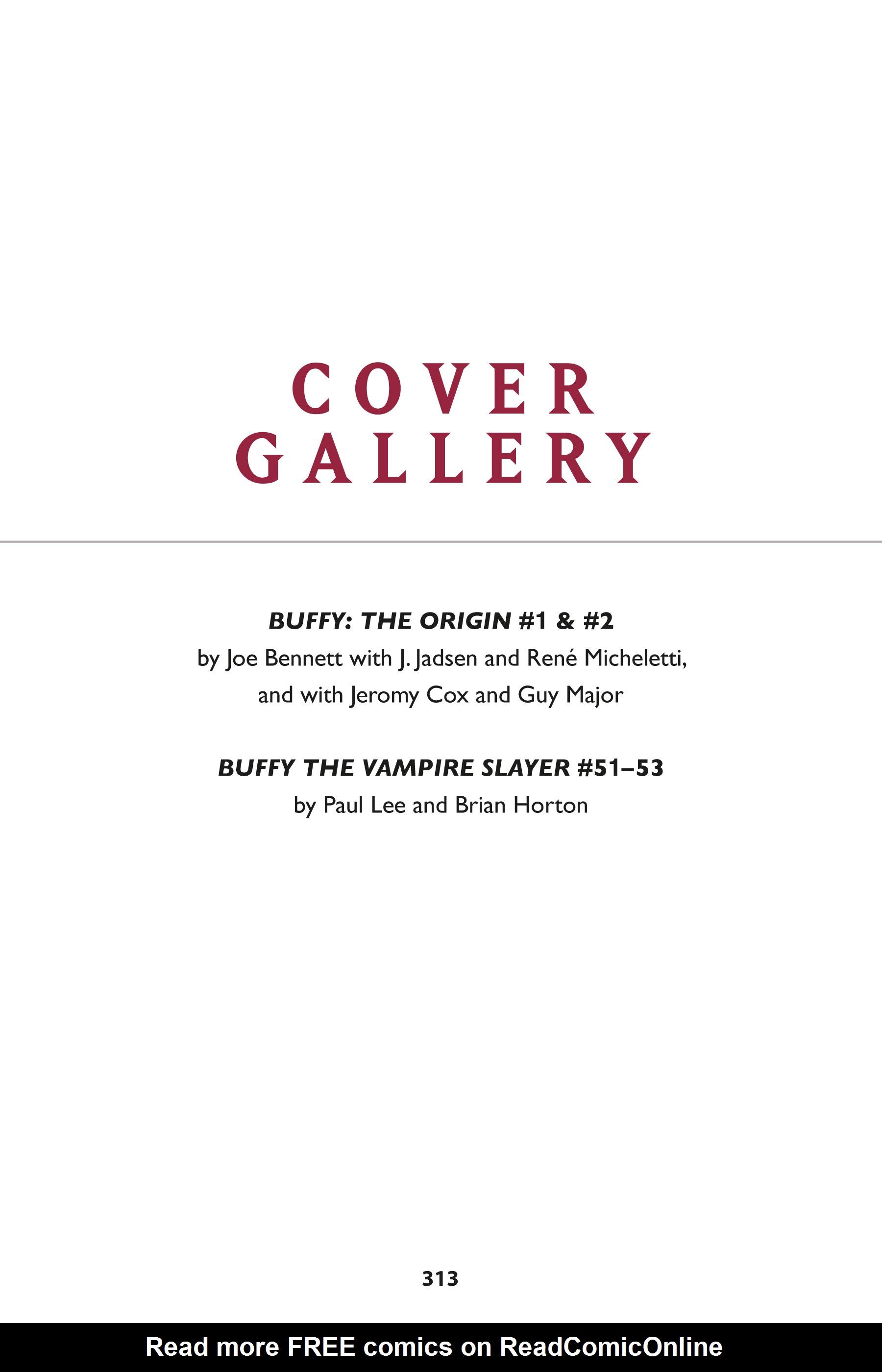 Read online Buffy the Vampire Slayer: Omnibus comic -  Issue # TPB 1 - 301