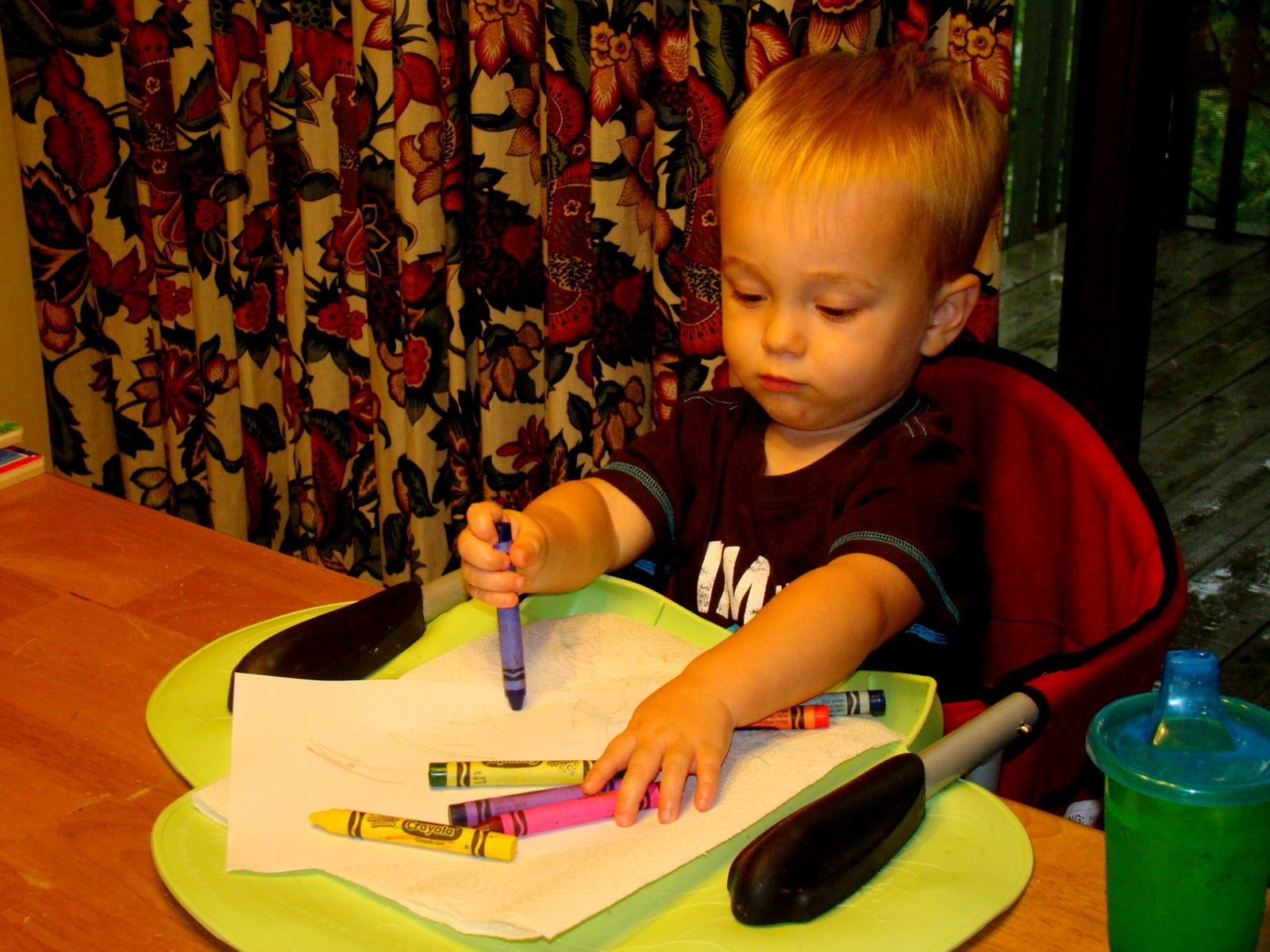 Almost Wordless Wednesday: A Whole Lotta Colorin'