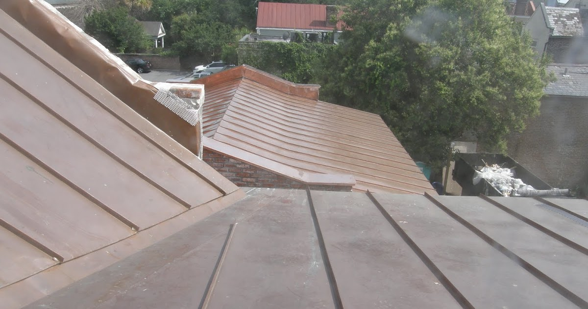 Real Life Leed Sri Values For Copper Roofing Old Vs New