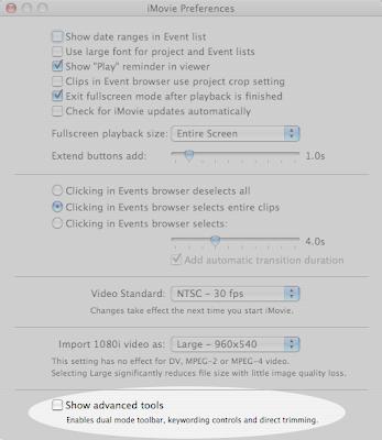Unlocking iMovie '08: How to use the advanced editing tools