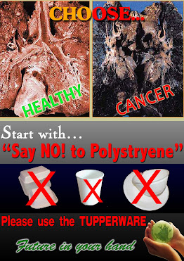 SAY NO TO POLYSTYRENE