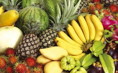 buah-buahan, buah-buahan tempatan, buah malaysia, buah tembikai, himpunan buah-buah tempatan,