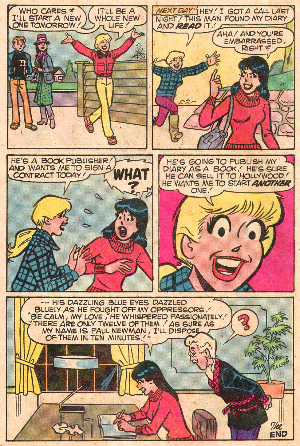 Read online Archie's Girls Betty and Veronica comic -  Issue #280 - 8