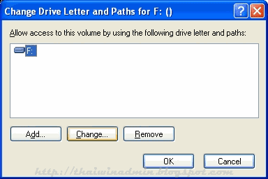Change Drive Letter and Paths for
