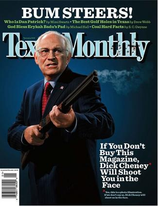 What can cheyneys dick got gun