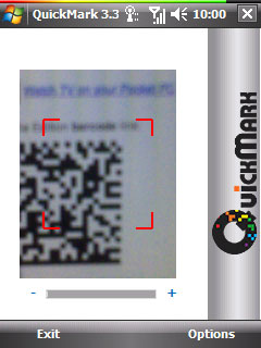 2d barcode reader software for pc camera free download