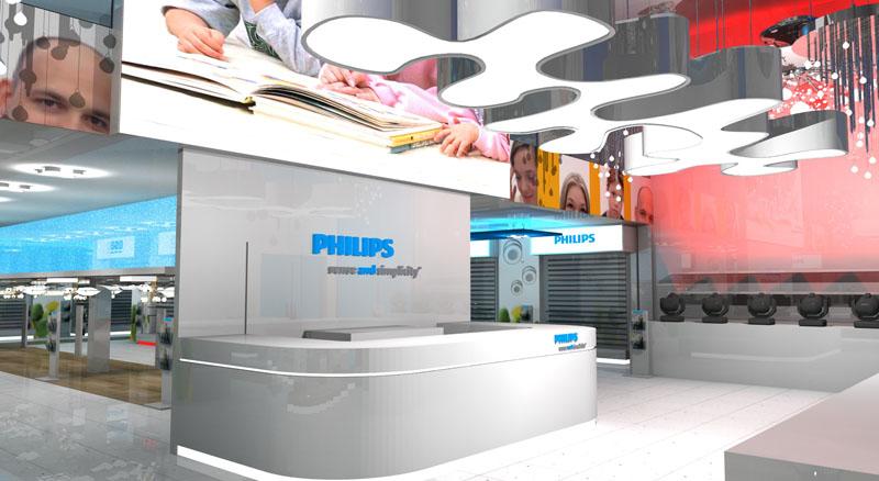 Oji Design Case Study Philips Showroom
