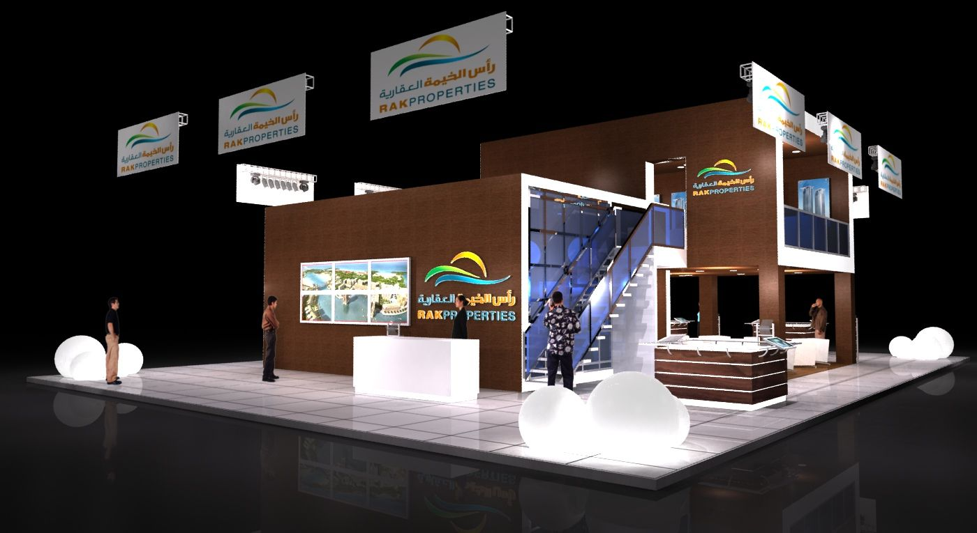 Property Exhibition Booth : Gurooji design rak property exhibition stand