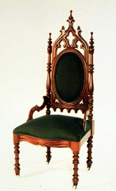 Gothic Tea Society: Chairs for every Gothic home