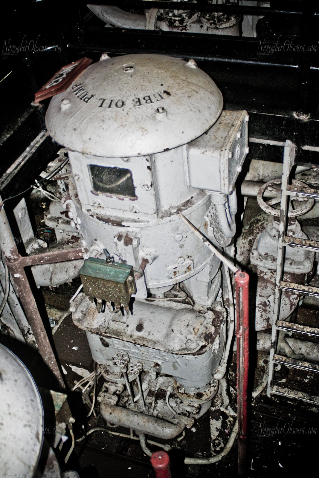 Queen Mary Engine Room: November Obscura: Queen Mary- Part 3 The Engine Room