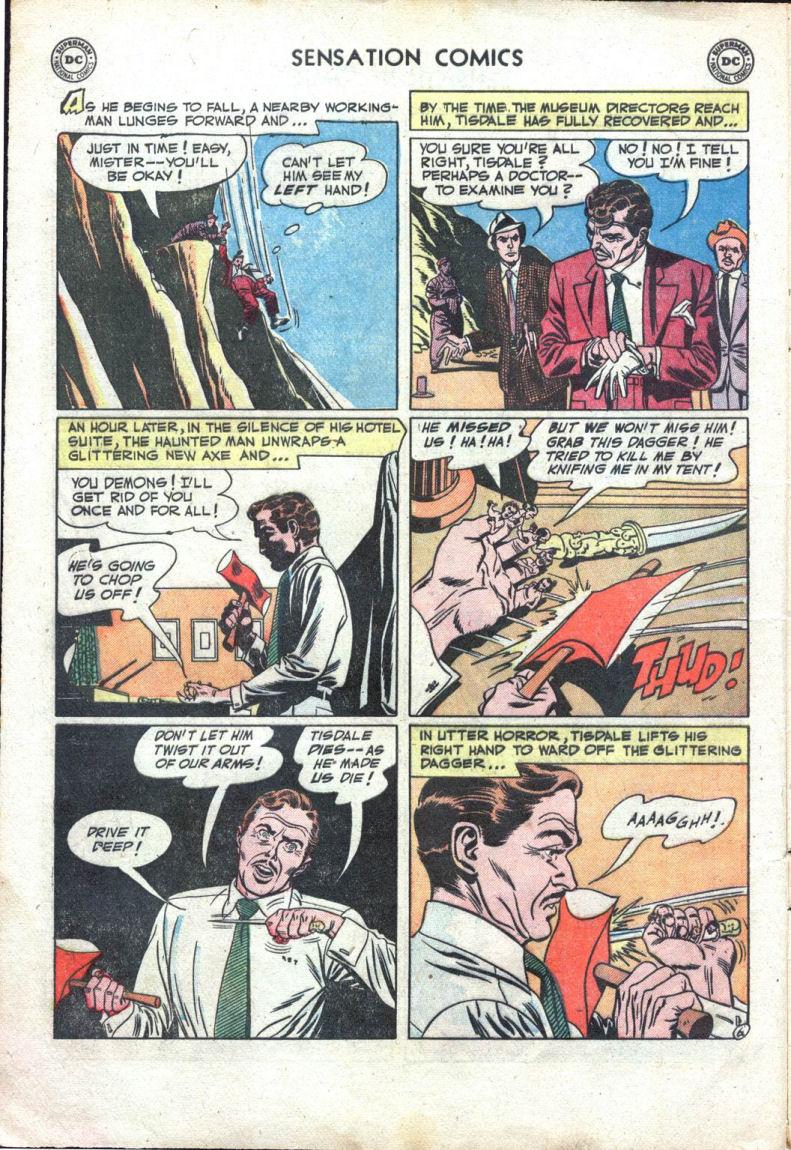 Read online Sensation (Mystery) Comics comic -  Issue #109 - 8