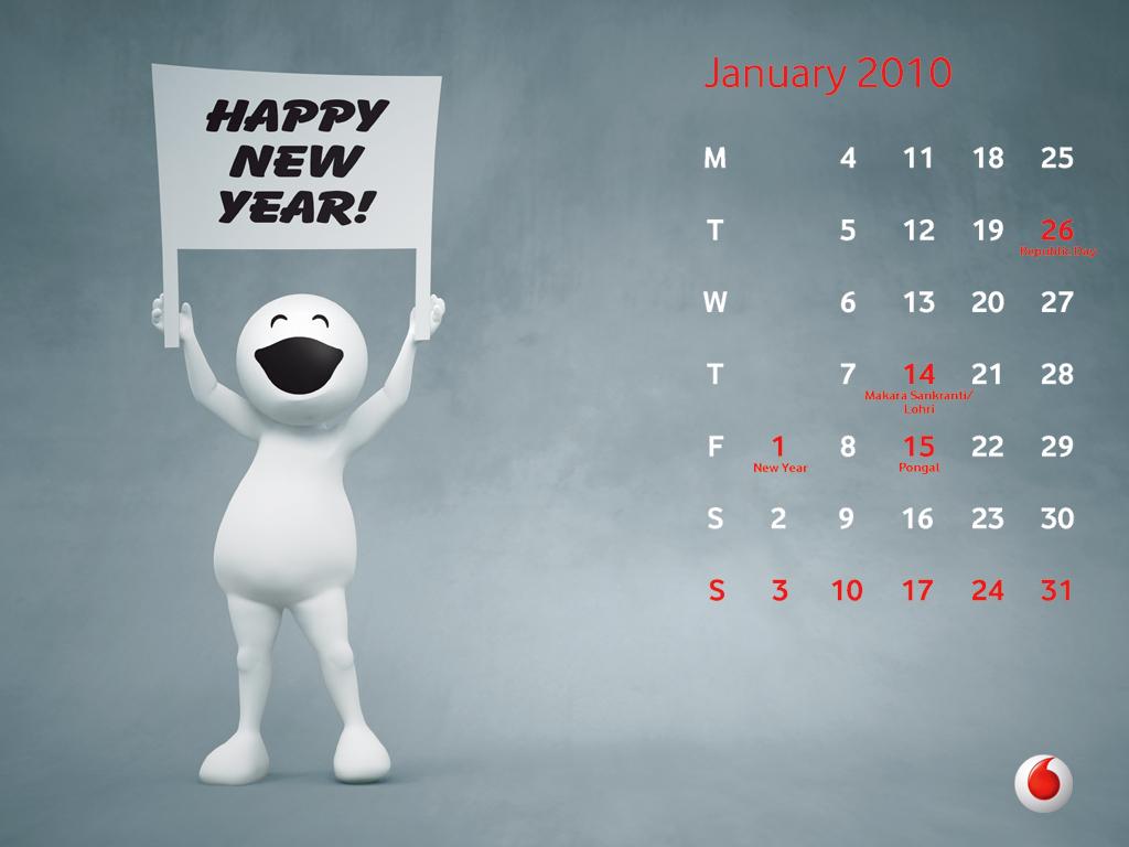 my blog download vodafone zoozoo 2010 calendar wallpapers