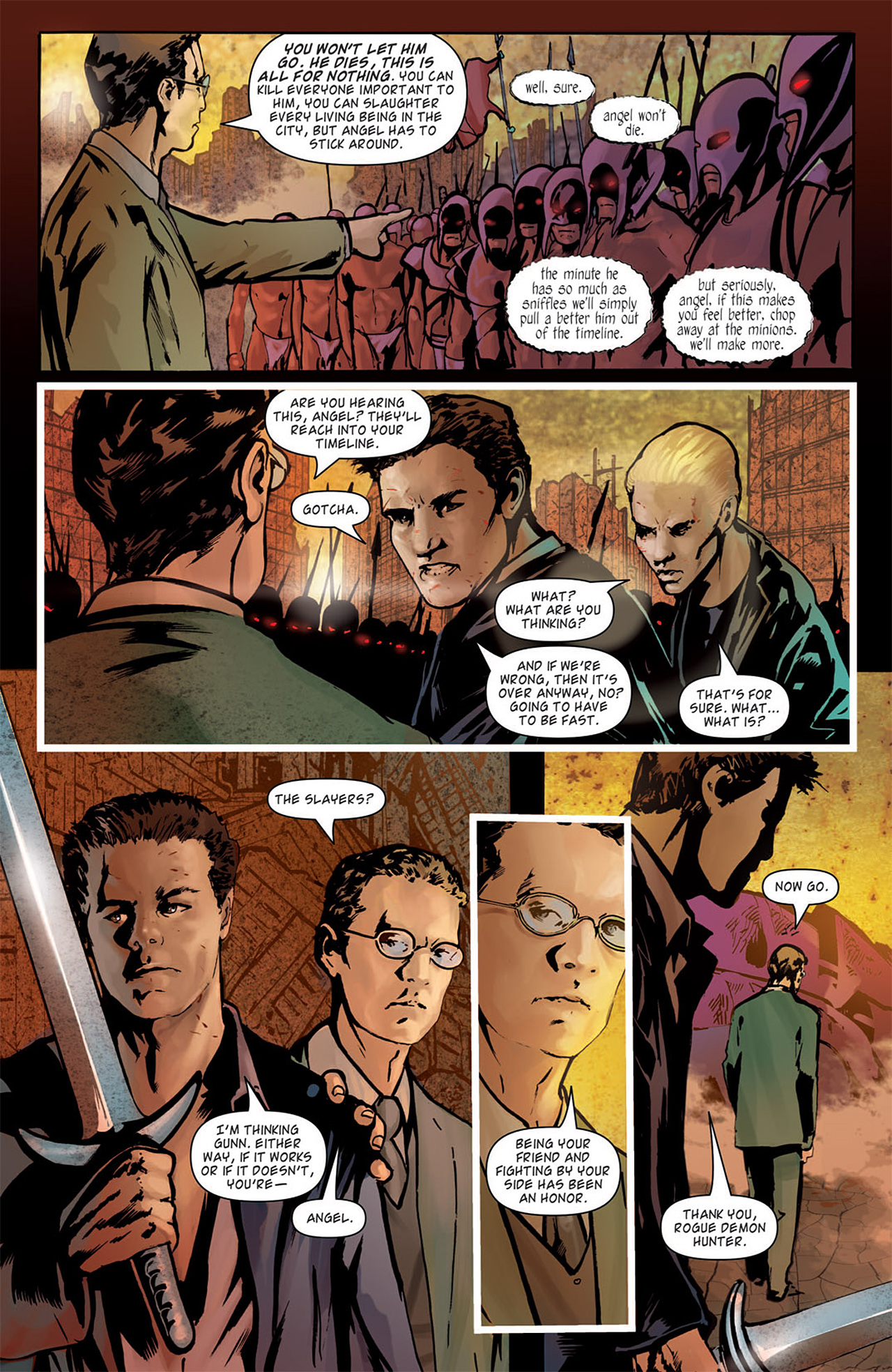 Read online Angel: After The Fall comic -  Issue #16 - 7