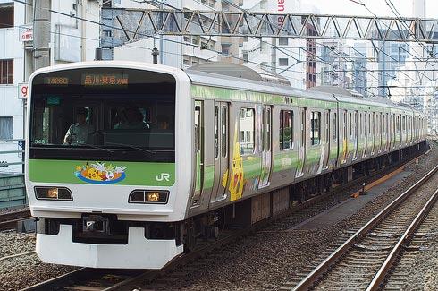 これは現在の山手線の電車。 -------- 桜木町事件の頃の車両と比...  六三型電車