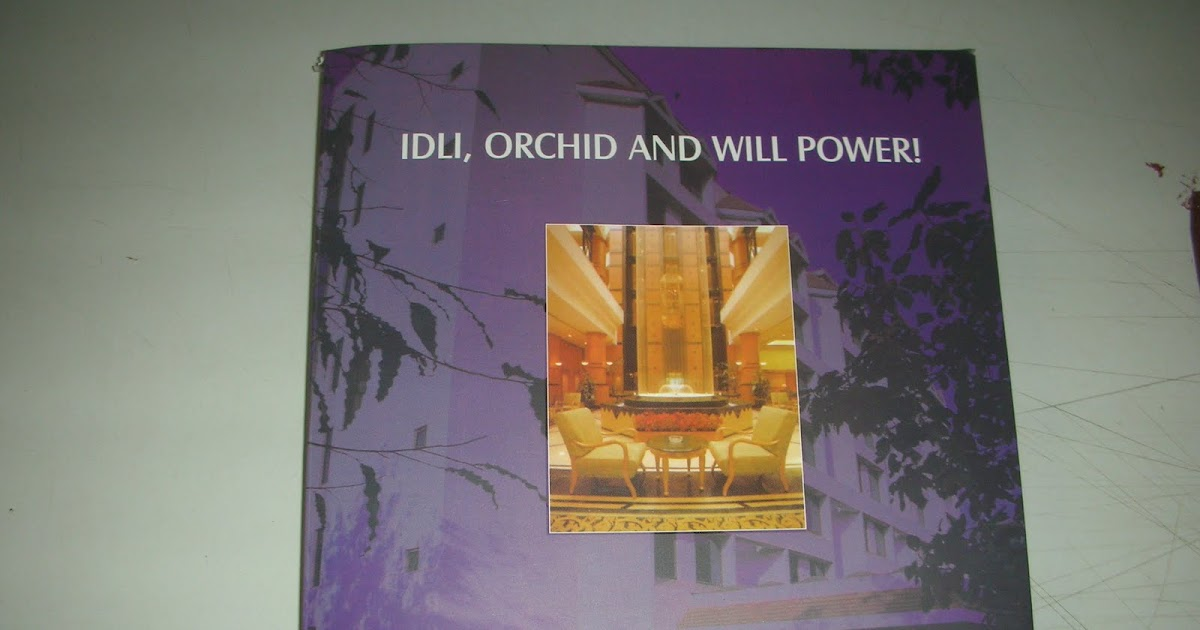 Idli Orchid And Willpower Ebook