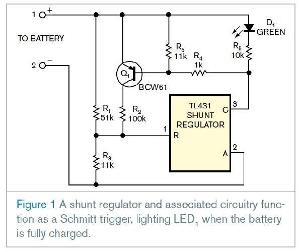 Power Electronics Circuits: Shunt Regulator Monitors