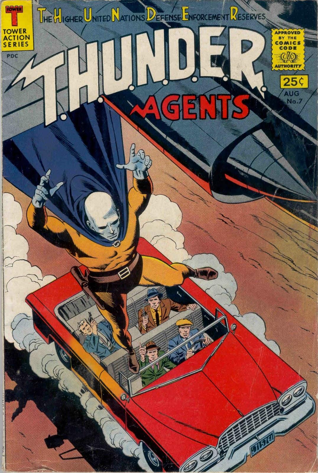T.H.U.N.D.E.R. Agents (1965) 7 Page 1