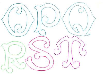Molde De Letras Grandes Y Originales Recrear Manualidades Arte