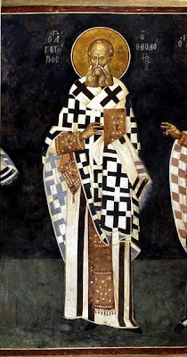 ST. GREGORY, Bishop of Nazianzus