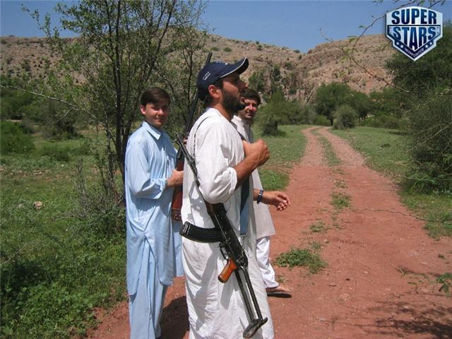Blog: Shahid Afridi With Big Guns ( Original Pictures