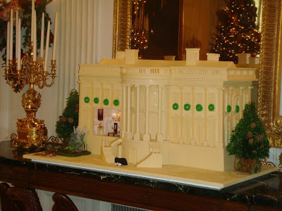 Yummy White House The Bill Yosses Designed White Chocolate And
